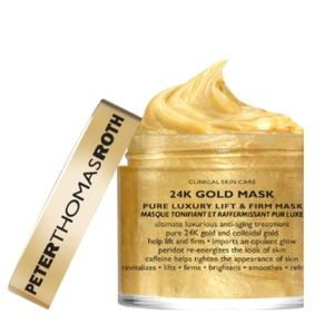 NWOT Peter Thomas Roth 24k Gold Mask